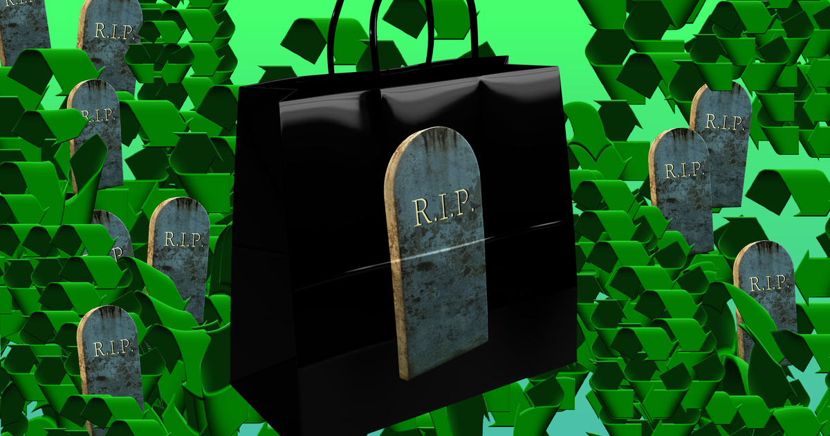 Has shopping died?