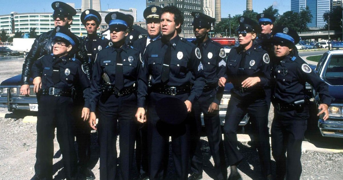 The death of the cop movie