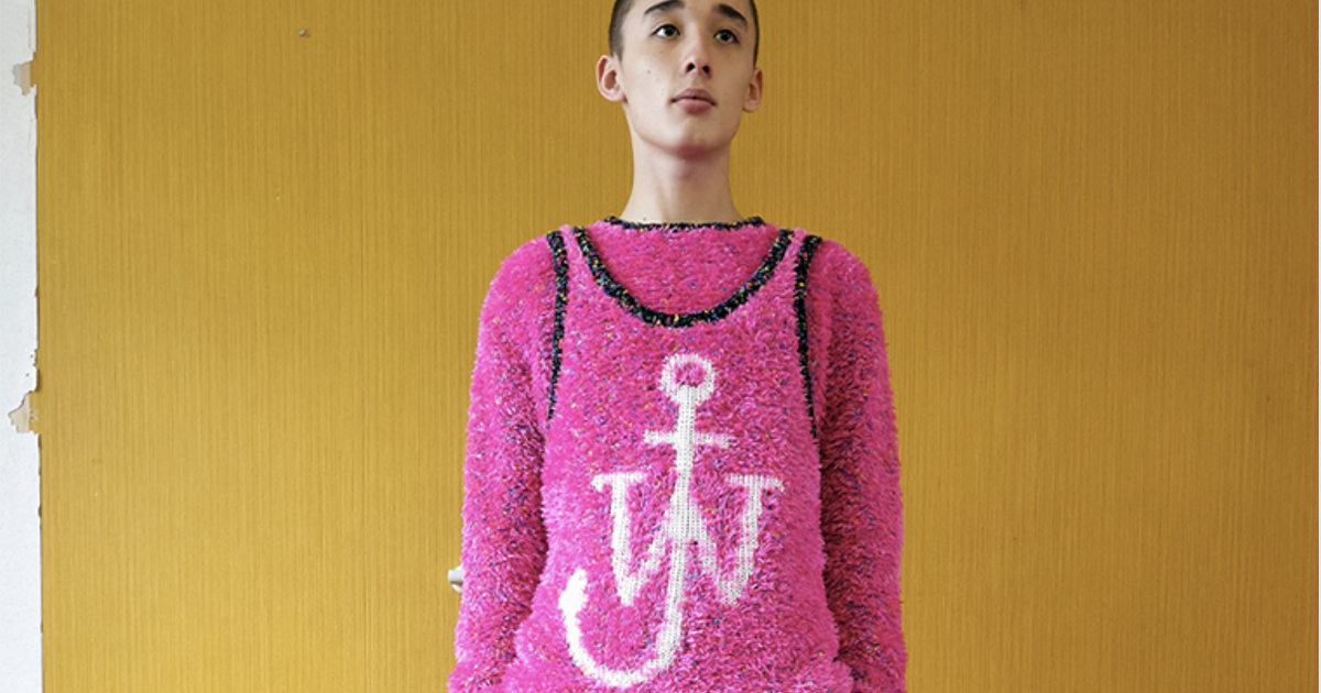 JW Anderson SS22: a pathway to hedonism