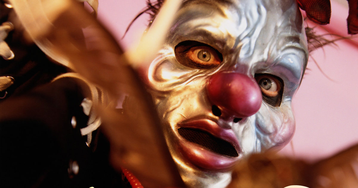 Hate couture: Slipknot's Clown as you've never seen him before